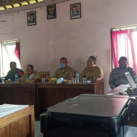 Monitoring dan Evaluasi Pembangunan Dana Desa Sumber Tahun  2020
